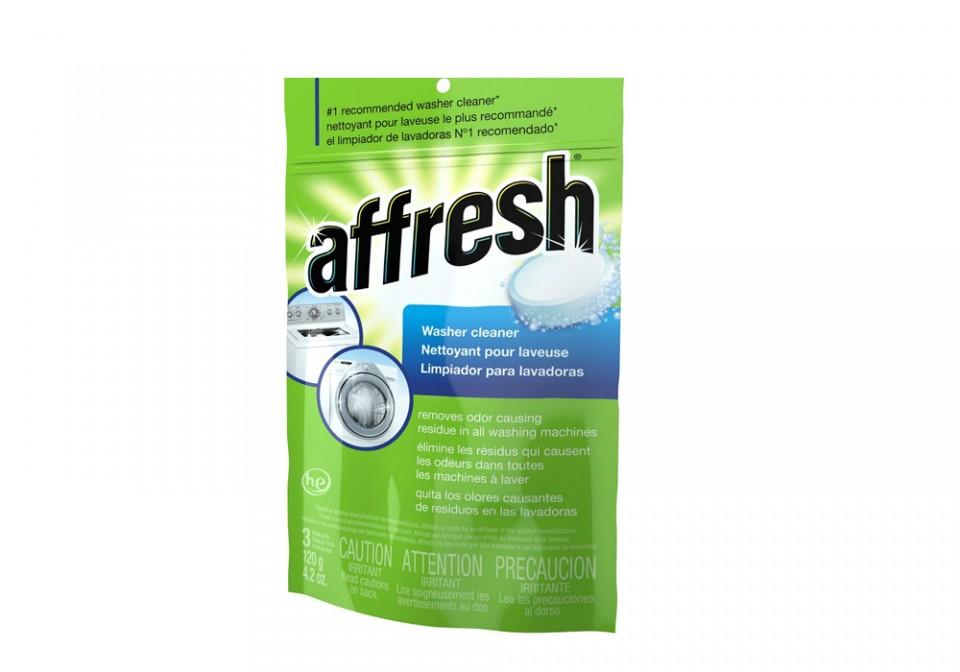Pastilla affresh limpieza lavadoras